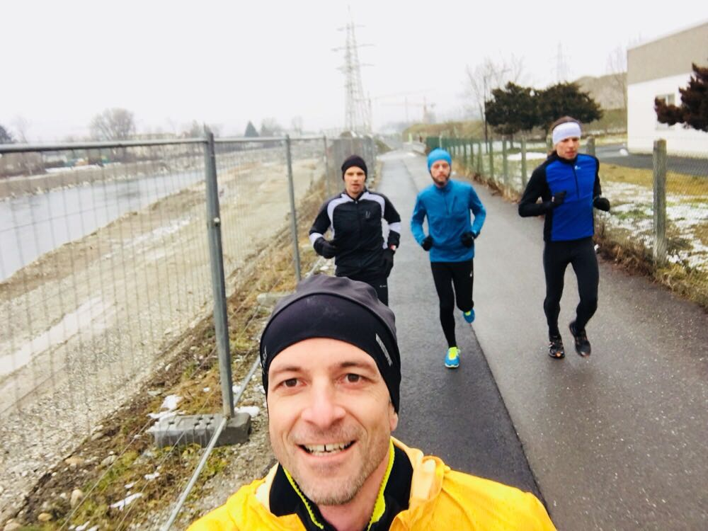 Trainingslauf in Graz – The Speed Project 4.0 Team Austria