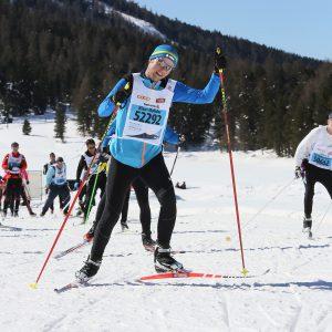 Klaus Molidor beim Langlaufen