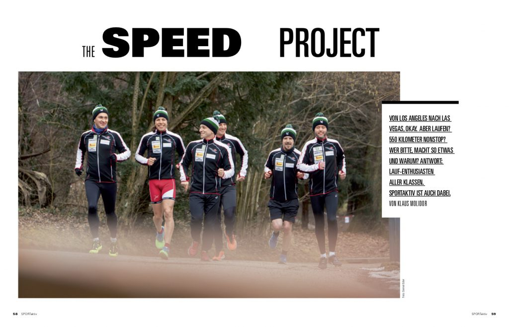 The Speed Project 4.0 - SPORTaktiv © Gernot Eder