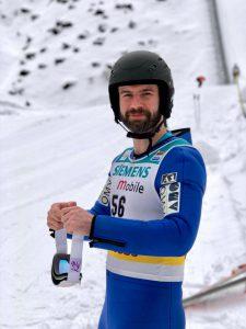 Gernot Eder beim Skispringen
