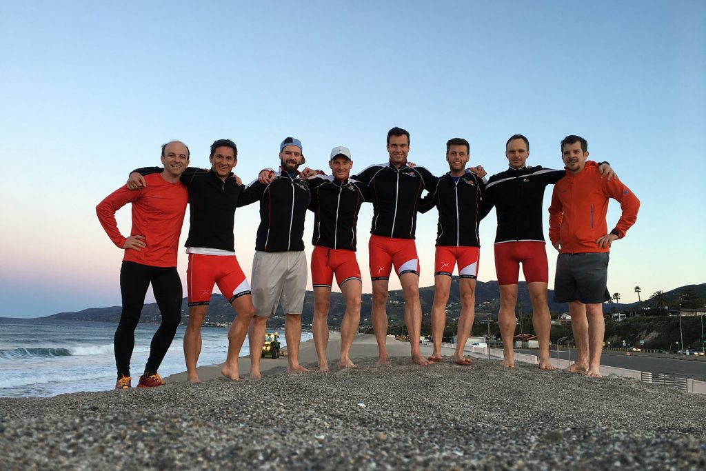 Morning Run Los Angeles –Team Austria