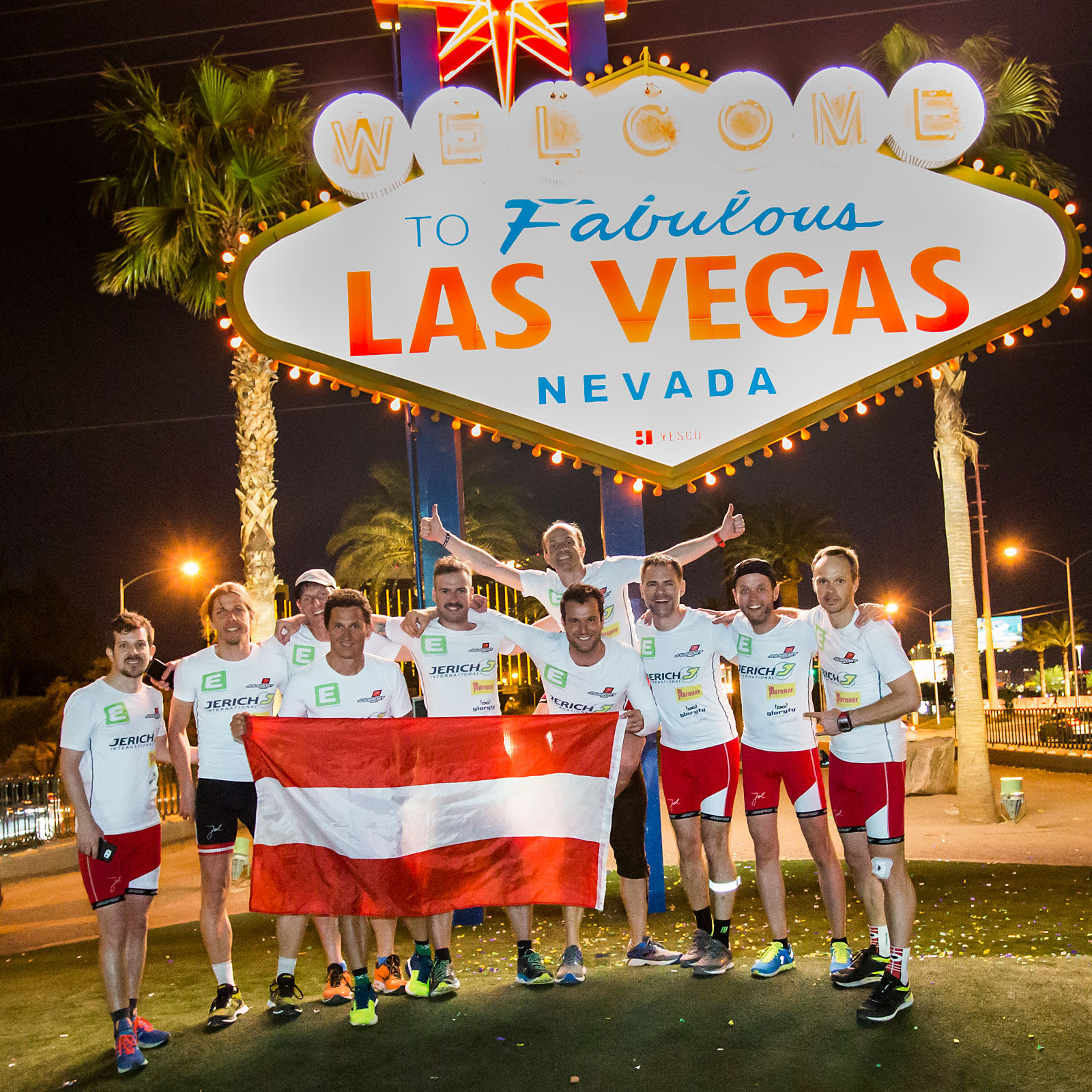 TSP 4.0 2018 – Team Austria – Welcome to Fabulous Las Vegas Nevada © Gernot Eder
